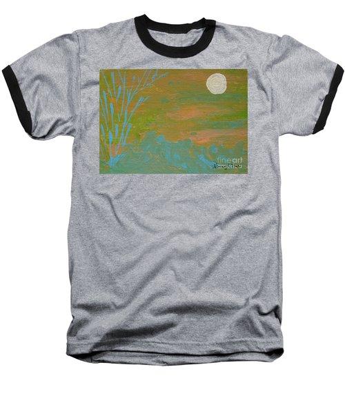 Moonlight In The Wild Baseball T-Shirt