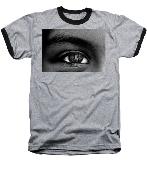 Moonlight In Your Eyes Baseball T-Shirt