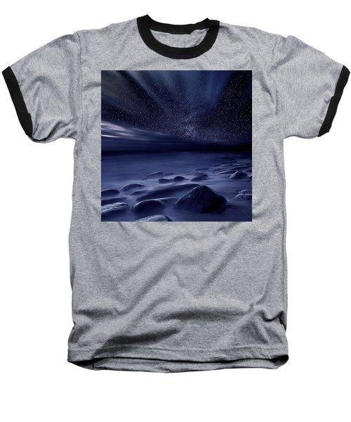 Moonlight Baseball T-Shirt by Jorge Maia