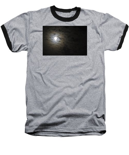 Baseball T-Shirt featuring the photograph Moonlight by Marilyn Wilson
