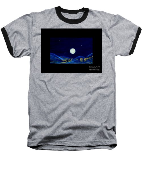 Moonlight. Winter Collection Baseball T-Shirt