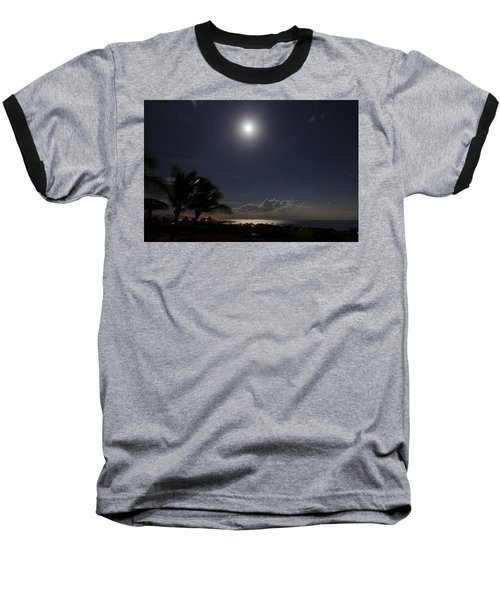 Moonlit Bay Baseball T-Shirt