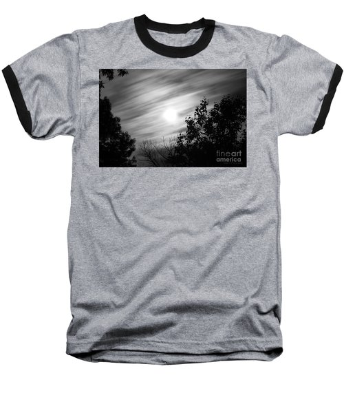 Moonlit Clouds Baseball T-Shirt