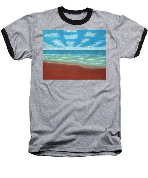 Moonset B Baseball T-Shirt