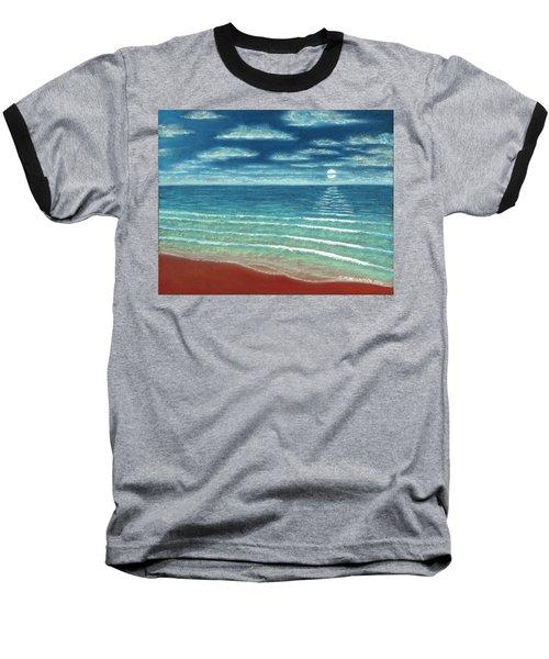 Moonset C Baseball T-Shirt
