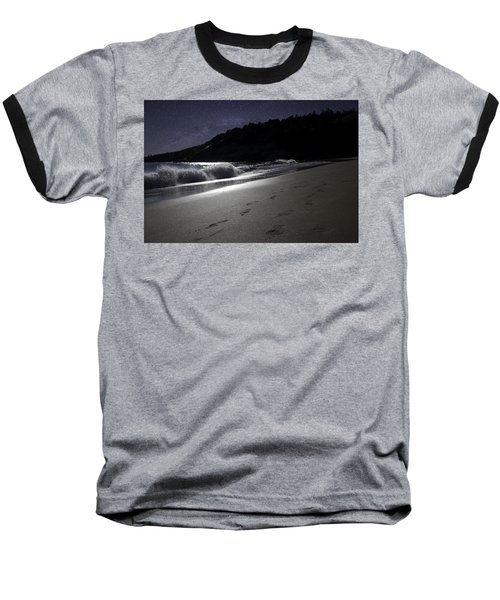 Baseball T-Shirt featuring the photograph Moonshine Beach by Brent L Ander