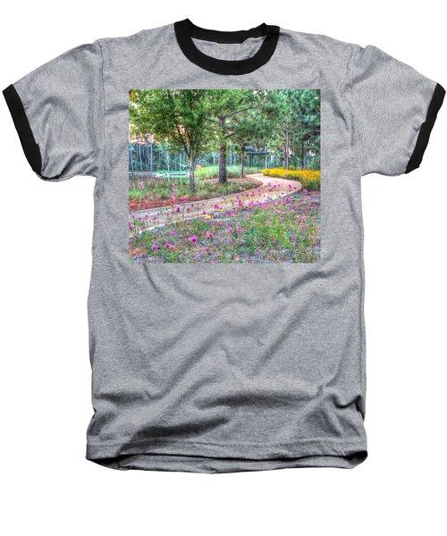 Moore Garden Stroll Baseball T-Shirt