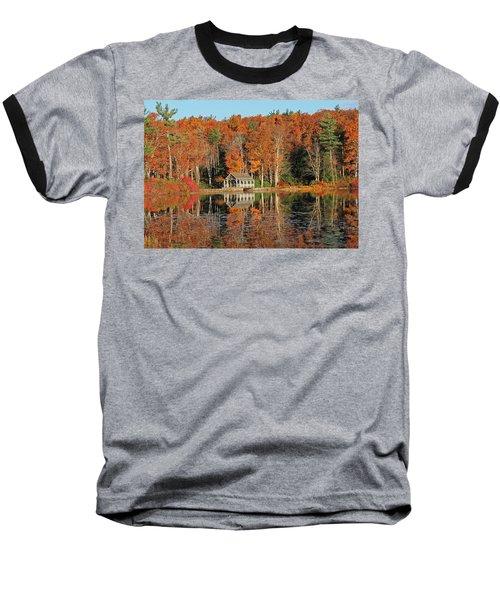 Moore State Park Autumn I Baseball T-Shirt