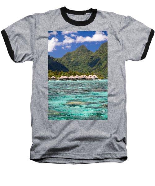 Moorea Lagoon No 3 Baseball T-Shirt