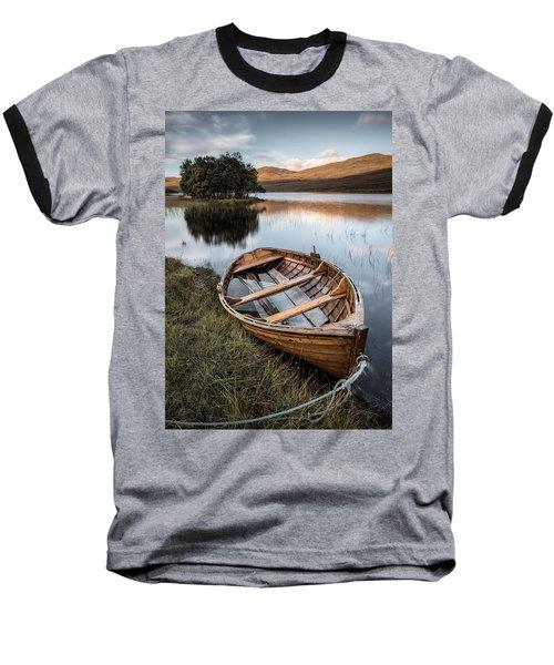 Moored On Loch Awe Baseball T-Shirt