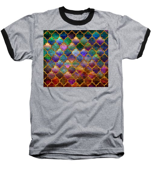 Moorish Mosaic Baseball T-Shirt
