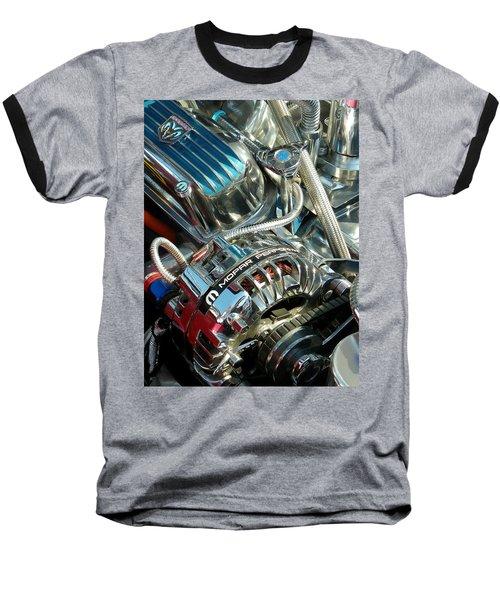 Mopar In Chrome Baseball T-Shirt