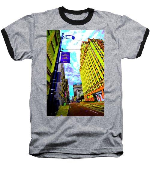 More Memphis On Monroe Baseball T-Shirt