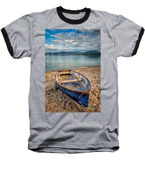 Morfa Nefyn Boat Baseball T-Shirt