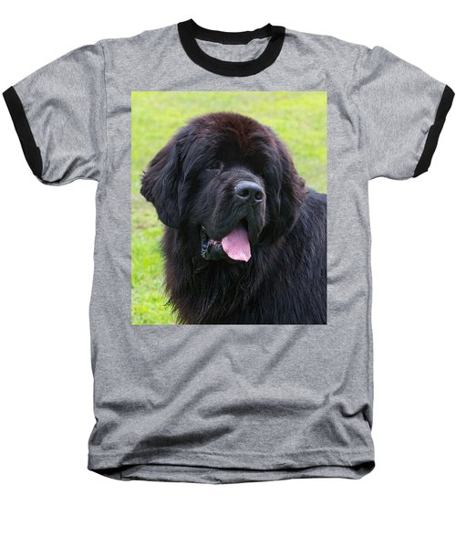Morgan The Newf Baseball T-Shirt