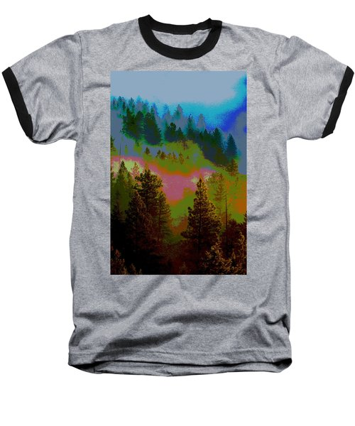 Morning Arrives In The Pacific Northwest Baseball T-Shirt