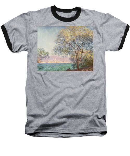 Morning At Antibes Baseball T-Shirt by Claude Monet