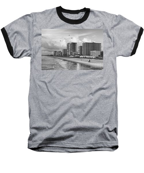 Morning At Daytona Beach Baseball T-Shirt