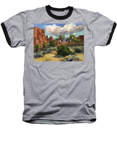 Morning At Joshua Baseball T-Shirt