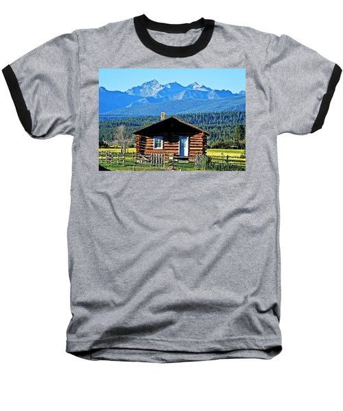 Baseball T-Shirt featuring the photograph Morning At The Getaway by Joseph J Stevens