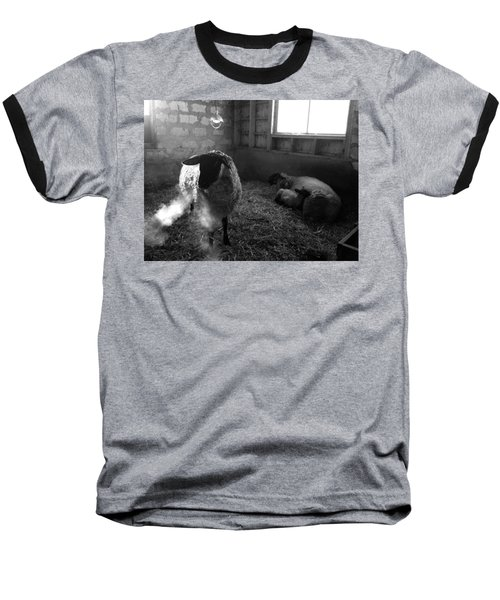 Morning Breath 1 Baseball T-Shirt