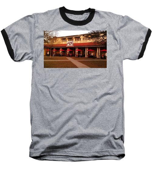 Morning Call In The Oaks - New Orleans City Park Baseball T-Shirt