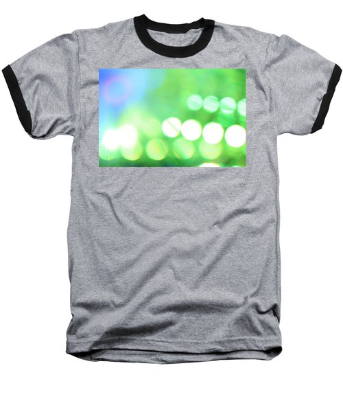 Baseball T-Shirt featuring the photograph Morning Dew by Dazzle Zazz