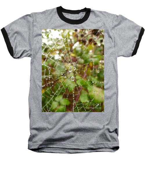 Baseball T-Shirt featuring the photograph Morning Dew by Vicki Spindler