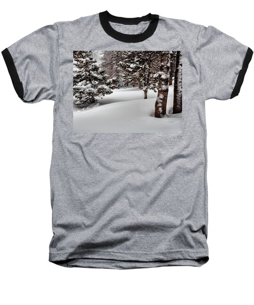 Morning Drifts Baseball T-Shirt