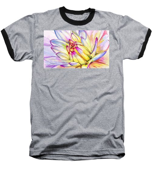 Morning Flower Baseball T-Shirt
