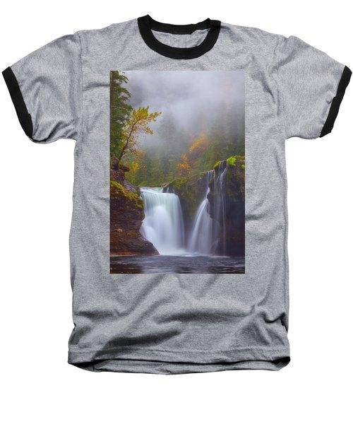 Morning Fog Baseball T-Shirt