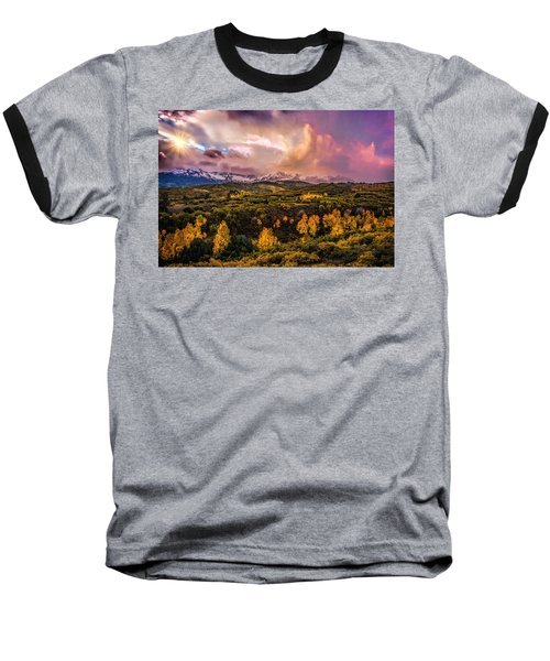Baseball T-Shirt featuring the photograph Morning Glory by Ken Smith