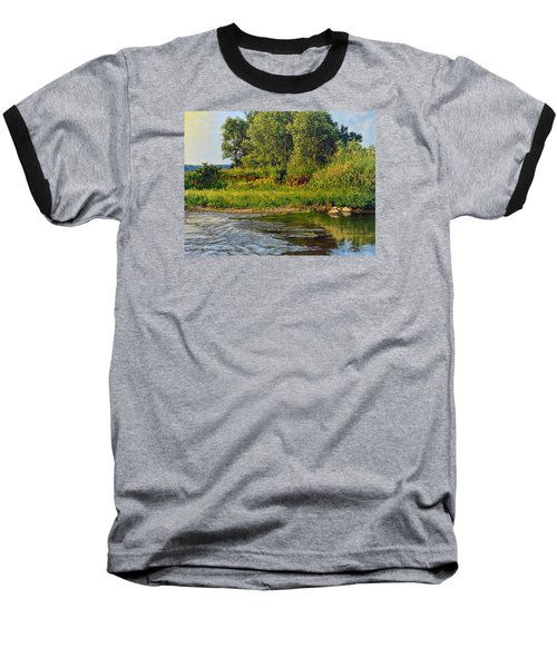 Morning Glow Baseball T-Shirt by Bruce Morrison