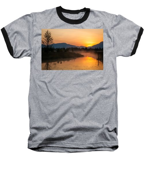 Baseball T-Shirt featuring the photograph Morning Has Broken by Jack Bell