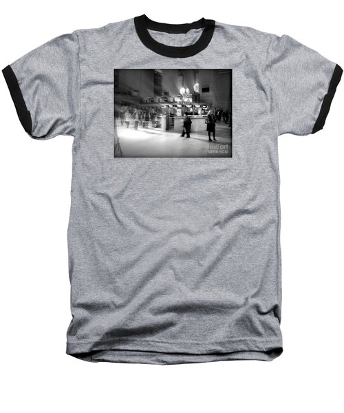 Morning In Grand Central Baseball T-Shirt by Miriam Danar