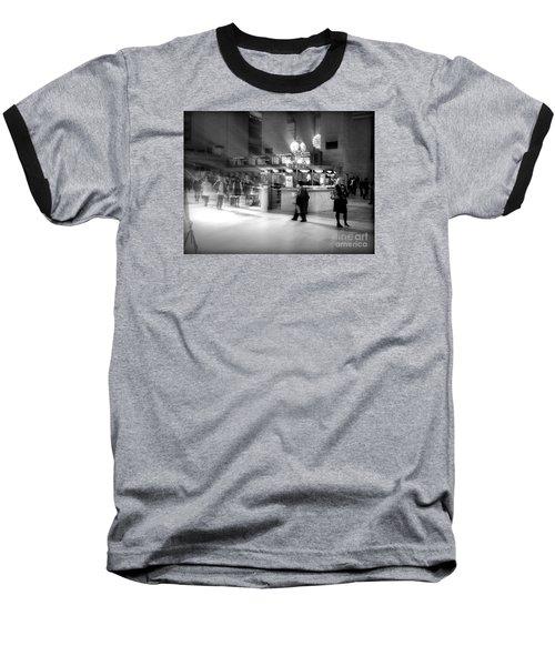 Morning In Grand Central Baseball T-Shirt