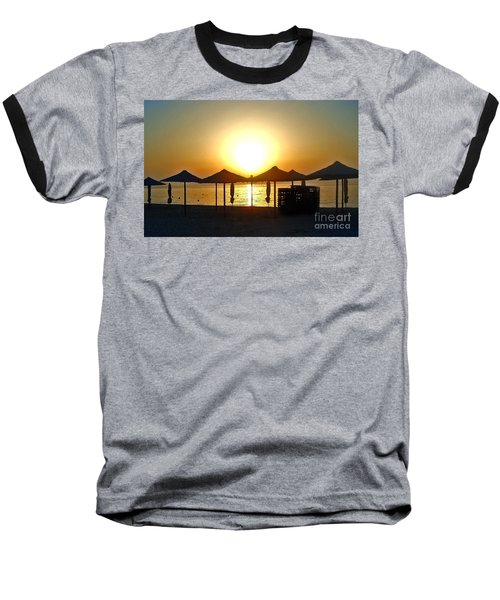 Morning In Greece Baseball T-Shirt