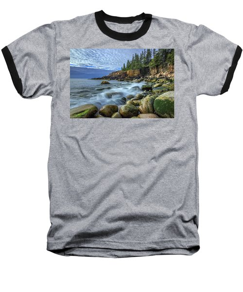 Morning In Monument Cove Baseball T-Shirt