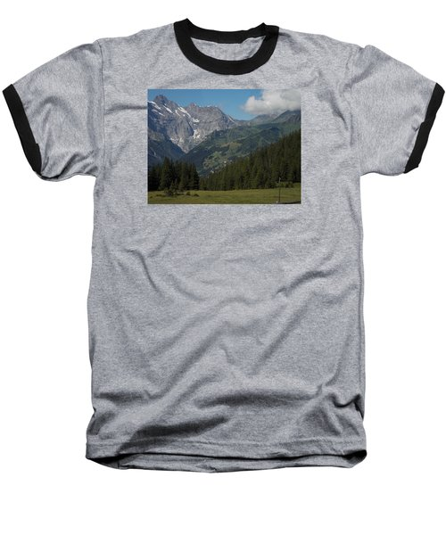 Morning In The Alps Baseball T-Shirt