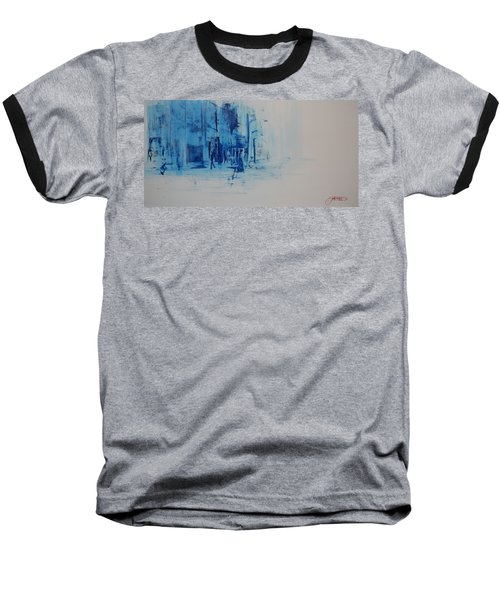 Morning In The City Baseball T-Shirt