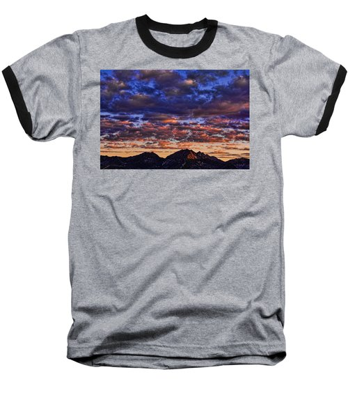 Morning In The Mountains Baseball T-Shirt