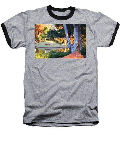 Morning In The Park Baseball T-Shirt