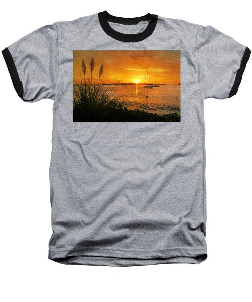 Morning Light - Florida Sunrise Baseball T-Shirt