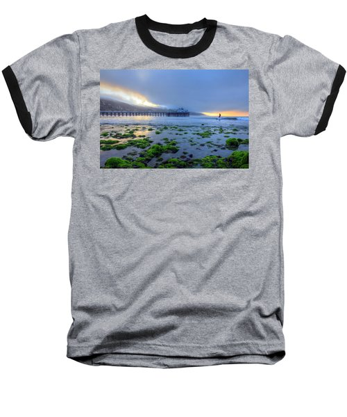 Morning Malibu Surf Baseball T-Shirt