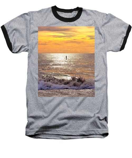 Sunrise Solitude Baseball T-Shirt