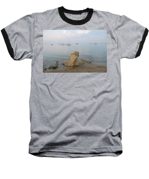 Baseball T-Shirt featuring the photograph Morning Mist 2 by George Katechis