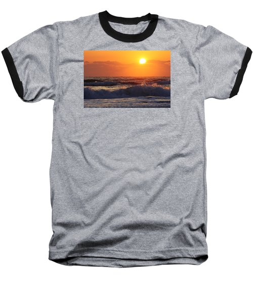Baseball T-Shirt featuring the photograph Morning On The Beach by Bruce Bley