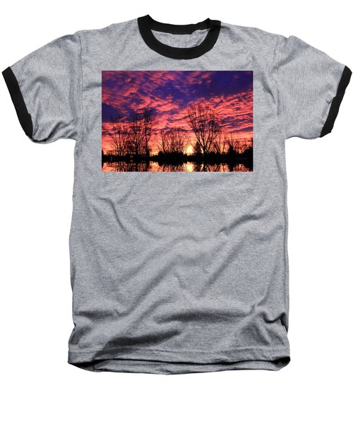 Morning Reflection Baseball T-Shirt
