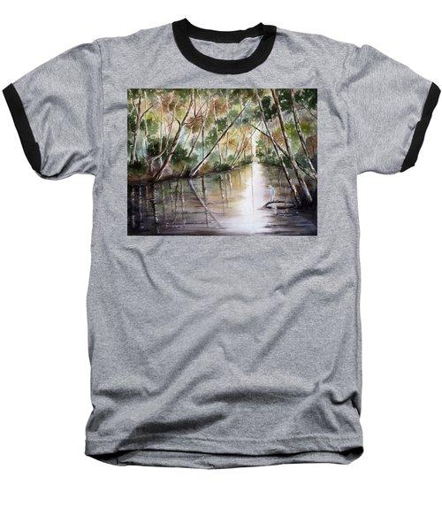 Morning Reflections Baseball T-Shirt