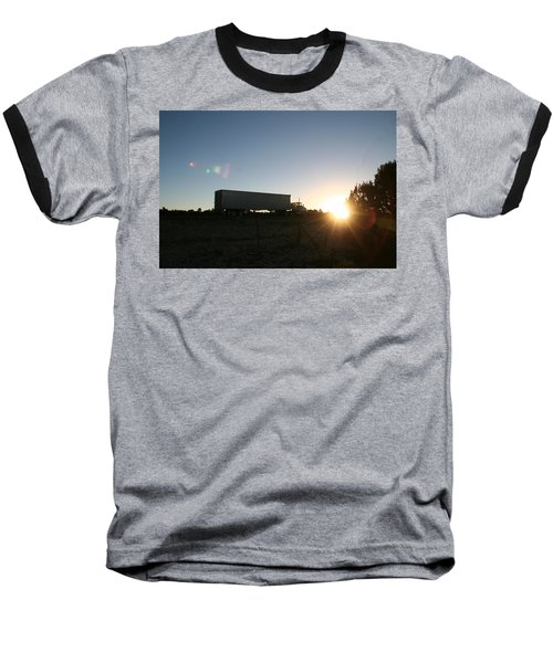 Baseball T-Shirt featuring the photograph Morning Run by David S Reynolds
